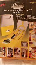 Nib Z Broom Complete Cleaning Kit Wall Mounted Organizer Broom Holder Model 101