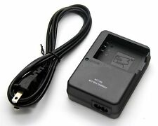Battery Charger for Casio EX-ZR700WE TRYX ZR1500 Exilim EX-H30 EX-H30BK EX-H35