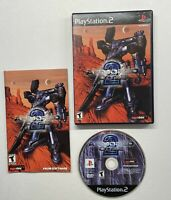 Armored Core 2 (Sony PlayStation 2, 2000) PS2 BLACK LABEL COMPLETE!!