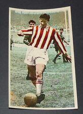 CPA FOOTBALL 1960-1961 RAYMOND KAELBEL AS MONACO ROCHER LOUIS II