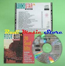 CD ROCKSTAR MUSIC 12 compilation PROMO 91 BROWN JAMES STATON (C16**)no mc lp dvd