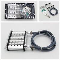 Aluminum Engine Oil Cooler Radiator Kit For 50-150cc ATV PIT PRO Trail Dirt Bike