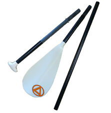 "Accent's MAX FG Fiberglass 3pc Breakdown 74-82"" Adjustable SUP Paddle only 34oz!"