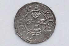 Sweden King Erik XIV (1560-68) in Reval Livonia Skilling 1562 XF/AU Condition !!