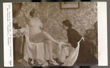 0131 GLAMOUROUS SALON DE PARIS 1914 SELMY FEET FETISH RISQUE SEXY NUDE NAKED