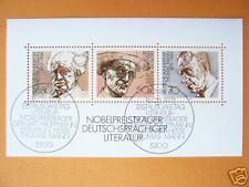 Block  16  ESST Bonn ,BRD 1978,  Literaturnobelpreis