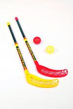 Fun Hockey Schläger Set mit 2 Schlägern und Bällen