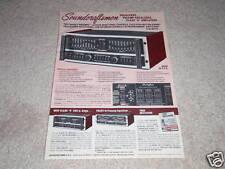 Soundcraftsmen SP4002 Pre / Eq , PE2217 Eq , Amplificador Ad1978