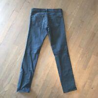 AG Adriano Goldschmied The Stilt Cigarette Leg Stretch Denim Jeans Woman's 25