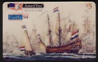 TK 26a Telefonkarte/Phonecard Amerivox CardEx'94 Williamson Painting of Ships