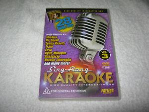 Sing-Along Karaoke - VGC - DVD - R4