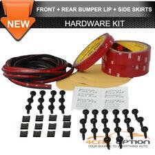 Fits Front Side & Rear Lip Installation Hardware Kit Gap Trim + Screws + 3M Tape