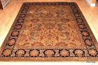 9' X 12' FINE QUALITY Handmade FLORAL Design Wool Rug. very thick durable