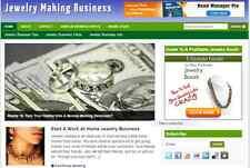 Domestic Jewelry Making Website Free Installation Hosting