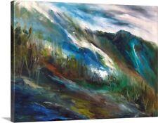 Sierra Storm Canvas Art Print