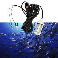 LED Underwater Submersible Fishing Four Light Color Lamp For Crappie Shad  ZB