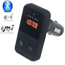 NEUF Bluetooth MP3 Lecteur transmetteur FM sans fil Modulateur Kit SD USB LCD