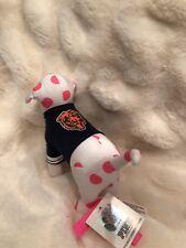 Victoria's Secret PINK NFL CHICAGO BEARS DOG TSHIRT JERSEY FOOTBALL PUP RARE DOG