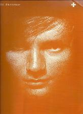 Ed Sheeran + Plus piano Partituras El Libro De Guitarra vocal Un equipo aprender a jugar