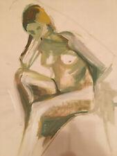 Peinture De Denise Arokas Derniere Muse Du Pentre Henri Matisse
