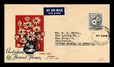DR JIM STAMPS FLANNEL FLOWER FIRST DAY ISSUE AUSTRALIA COVER