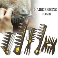 Wide Tooth Comb Professional Salon Hair Styling Hairdressing Brush Ribs Tool