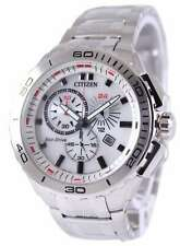 Citizen White Dial Stainless Steel Men's Watch AT0960-52A