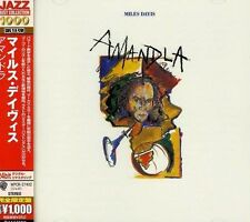 MILES DAVIS Amandla CD BRAND NEW Japanese Edition w/ Obi