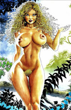 CAVEWOMAN BUDDS BEAUTIES AND BEASTS #2, Blonde Medusa, Nude, NEW NM+ (2007)