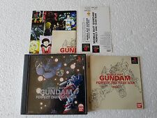 PSX SONY PLAYSTATION JAP NTSC MOBILE SUIT GUNDAM PERFECT ONE YEAR WAR  W/SPINE