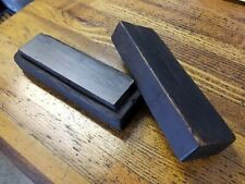 ANTIQUE Tools Sharpening Stone Oilstone in Box 1896 Grinding Abrasives Set ☆USA