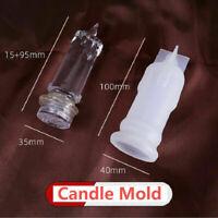 Silikonform Kerzenform Gießform Candle Form Mould DIY Kerzenherstellung 2Größe