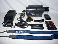 Sony Handycam CCD-TRV112 8mm Video8 Camcorder VCR Player Camera Video Transfer
