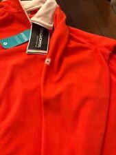 Craghoppers Ladies Venetian Red Half Zip Fleece Size 12