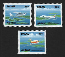 OPC 1989 Palau Air Mail Aircraft Set Sc#C18-20 MNH 33500