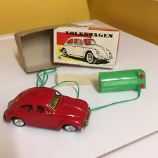 VINTAGE MASUDAYA (MODERN TOYS), TIN, VOLKSWAGEN FULLY WORKING W/BOX. SWEET!