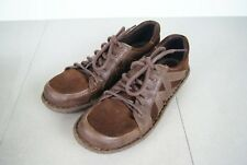 BORN Brown Leather/Suede Low Heel Lace Oxford Shoes Style D12726 Size 8.5 M