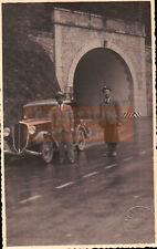 LOTTO FOTO 1930ca COSTRUZIONE STRADA IN PROVINCIA DI GENOVA - FOTO CASELLA C9-1
