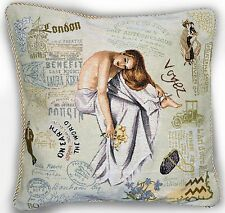 "Tach 18"" Home Sofa Decor Accent French Girl Throw Pillow Cushion Cover Case"