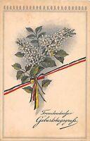 BG4202  geburtstag birthday lilly  flower  germany  greetings