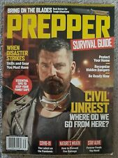 PREPPER SURVIVAL GUIDE Magazine When Disaster Strikes Civil Unrest Where to Go..