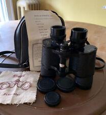 Vintage Sans & Streiffe Binoculars And Case