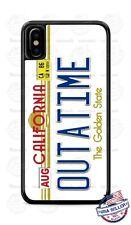 Volver Al Futuro Delorean Outatime película Réplica Propulsor teléfono caso para iPhone..