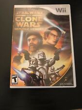 Nintendo WII Star Wars The Clone Wars Republic Heroes (Complete)