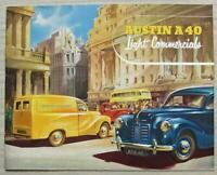 AUSTIN A40 LIGHT COMMERCIALS Sales Brochure c1951 #865F VAN Pick Up COUNTRYMAN