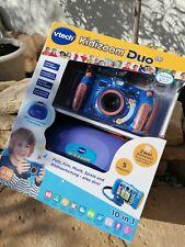 VTECH Digitalkamera Kidizoom Duo 5.0 NEU OVP mit Garantie inkl Tragetasche blau