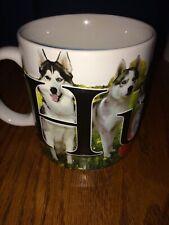 Husky Dog Coffee Tea Hot Cocoa Mug Cup Large Size Alaskan Canadian Sled Dogs