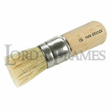 No 16 Stippling Brush 30mm dia - Create textured paint finishes - Art Framing