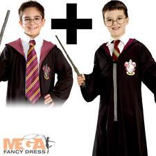 Harry Potter Robe Kit + Tie Boys Fancy Dress World Book Day Childs Kids Costume