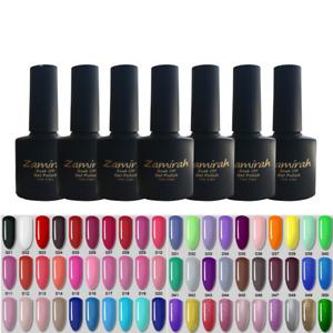 Nail Gel Polish Zamirah Soak off UV LED Colour Magnet Base Coat Top Coat Gel